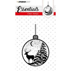 STUDIO LIGHT CLEAR STAMPS A7 Essentials 298 Christmas