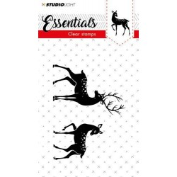 STUDIO LIGHT CLEAR STAMPS A7 Essentials 299 Christmas