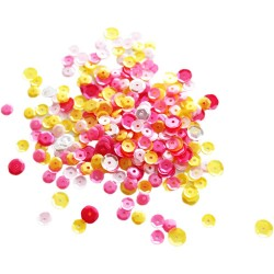 NEAT 6 TANGLED PINK LEMONADE SEQUINS