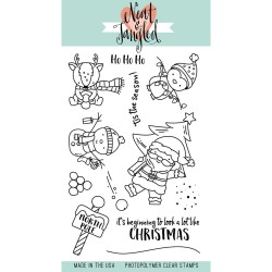 NEAT & TANGLED Clear stamps Santa's Wonderland