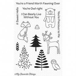 MFT Friends in the Forest stamps