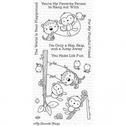 MFT Jungle Gym clear stamps