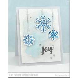 MFT Snowflake flurry Stamps and Dies