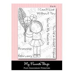 MFT PURE INNOCENCE PRIMROSE CLEAR STAMPS