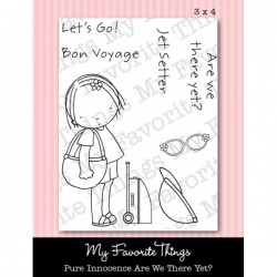 MFT PURE INNOCENCE ARE WE THERE YET CLEAR STAMPS