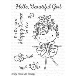 MFT PURE INNOCENCE BEAUTIFUL GIRL CLEAR STAMPS