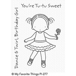 MFT PURE INNOCENCE TUTU SWEET  CLEAR STAMPS