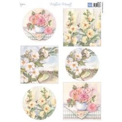 MARIANNE D DECOUPAGE SHEET,  Mattie mooiste Roses