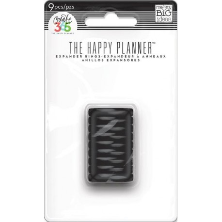 ME 6 MY BIG IDEAS HAPPY PLANNER DISCS MINI BLACK