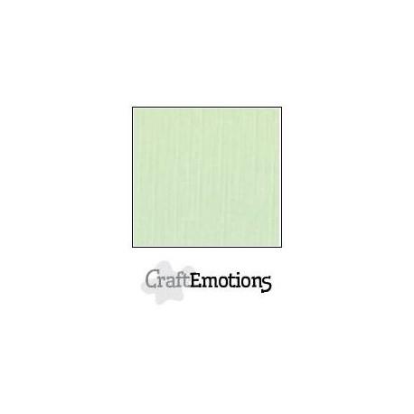 Linen Cardstock Green