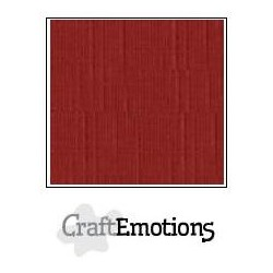 Linen Cardstock Dark Red