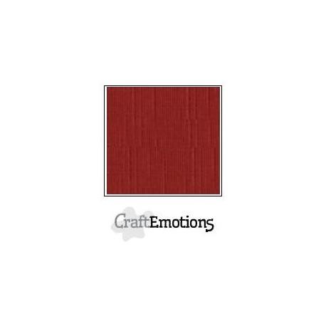 Linen Cardstock Dark Red