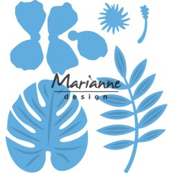 MARIANNE DESIGN Creatables Hibiscus & Tropical Leaves