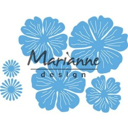 MARIANNE DESIGN Creatables Anjas beautiful flower set