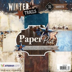 STUDIO LIGHT  PAPER PAD 97 winter trails