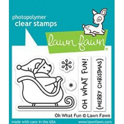 LAWN FAWN OH WHAT FUN DIES AND STAMPS SET
