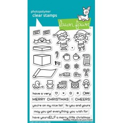 LAWN FAWN   HOLIDAY HELPERS STAMPS