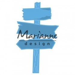 MARIANNE DESIGN Creatables WOODEN SIGNPOST