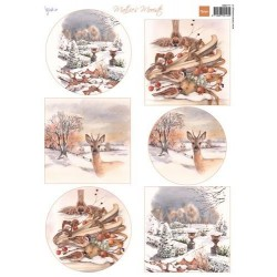 MARIANNE D DECOUPAGE SHEET, MATTIES MOOISTE, Beautiful Winter 1