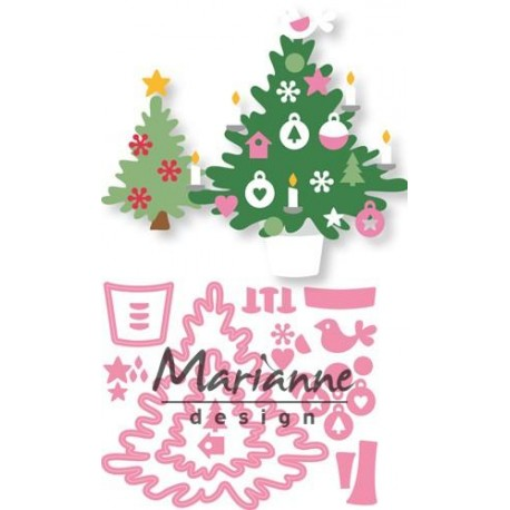 MARIANNE DESIGN COLLECTABLES CHRISTMAS TREE