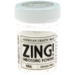 ZING EMBOSSING POWDER WHITE