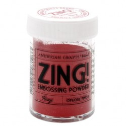 ZING EMBOSSING POWDER RED