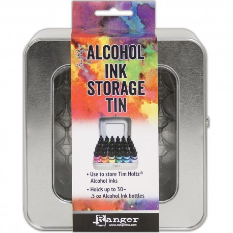 Tim Holtz Alcohol Ink STORAGE TIN FOR 36 ALCOHOL INKS