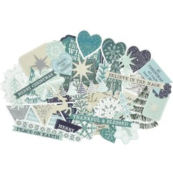 Kaisercraft WONDERLAND Collectables Cardstock Die-Cuts