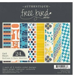 AUTHENTIQUE PAPER PAD FREE BIRD NEST