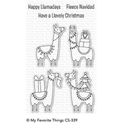My favorite Things : HAPPY LLAMA DAYS  CLEAR STAMPS