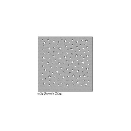 MIX-ABLES STAR CELEBRATION STENCIL 15X15 CM