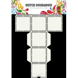 Dutch Doodaboo Dutch BOX ART STRAW DISPENSER