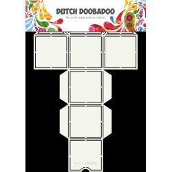 Dutch Doodaboo Dutch BOX ART STRAW DISPENSER