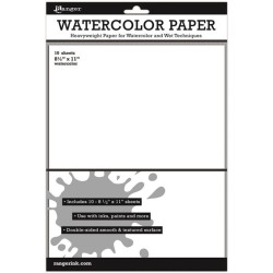 Ranger distress watercolor CARDSTOCK