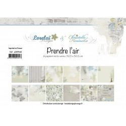 LORELAÏ DESIGN PACK 6  - PRENDRE L'AIR