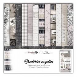 LORELAÏ DESIGN PACK 6  - BRODERIES OXYDEES