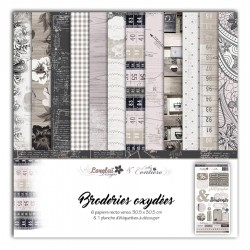 LORELAÏ DESIGN PACK 6  - BRODERIES OXYDEES