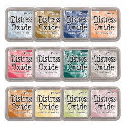 Tim Holtz distress oxide ALL NEW COLOURS (SET 5)