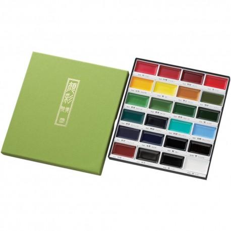 KURETAKE-Gansai Tambi Water Colours Set