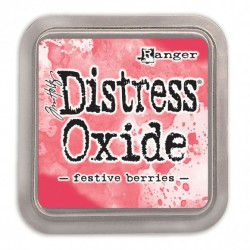 Tim Holtz distress oxide FESTIVE BERRIES