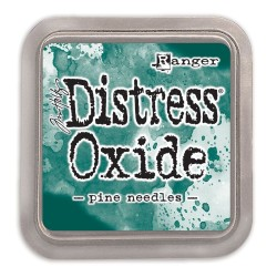 Tim Holtz distress oxide PINE NEEDLES