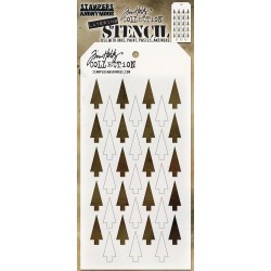 TIM HOLTZ STENCIL SHIFTER TREE