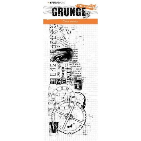 STUDIO LIGHT CLEARSTAMP GRUNGE COLLECTION 336