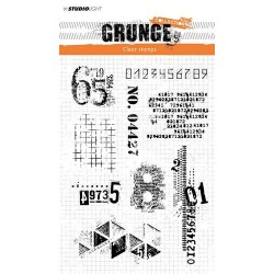 STUDIO LIGHT CLEARSTAMP GRUNGE COLLECTION 340