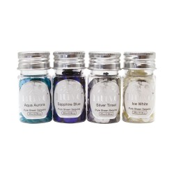 NUVO PURE SHEEN SEQUINS LET IT SNOW, 4 X 25 ML,