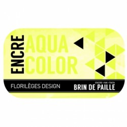 FLORILEGES ENCRE AQUACOLOR BRIN DE PAILLE