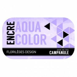 FLORILEGES ENCRE AQUACOLOR CAMPANULE