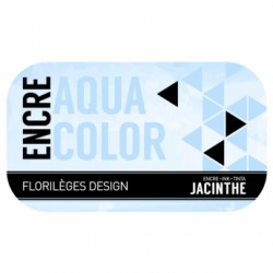 FLORILEGES ENCRE AQUACOLOR JACINTHE