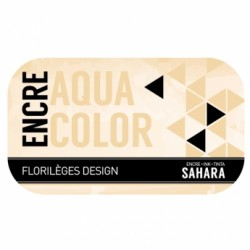 FLORILEGES ENCRE AQUACOLOR SAHARA