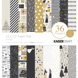 KAISERCRAFT FIRST NOEL COLL PACK, 30,5 X 30,5 CM